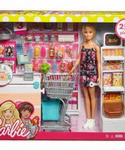 Set de joaca Barbie la supermarket