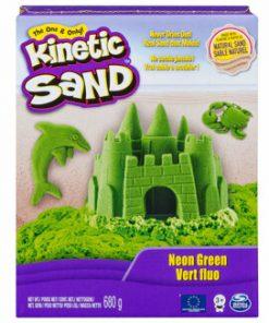 Kinetic Sand Deluxe, Verde neon, 680 grame