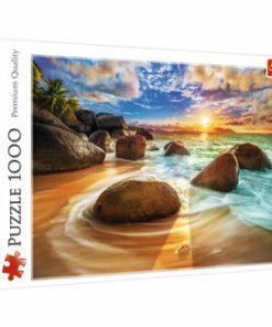 Puzzle Trefl Plaja Samudra India, 1000 piese