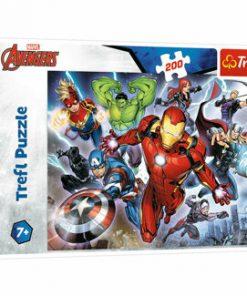 Puzzle Trefl Avengers Razbunatorii, 200 piese
