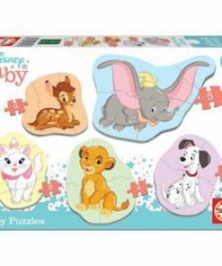 Puzzle Baby Disney Animals 2, 19 piese