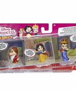Set 3 mini figurine Disney Princess Comics - Alba ca Zapada