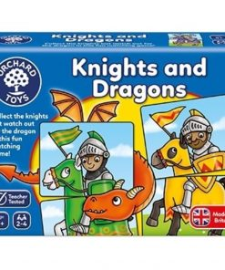 Joc educativ - puzzle Cavaleri si Dragoni KNIGHTS AND DRAGONS