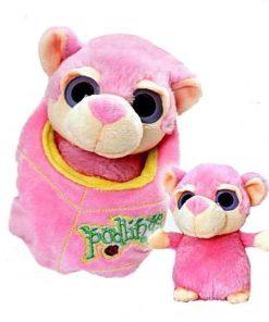 Maimutica de plus roz 18 cm Podlings