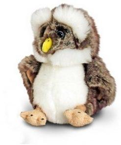 Bufnita de plus Brown Owl 18 cm
