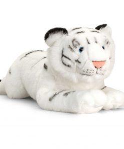 Tigru alb de plus Wild 58 cm