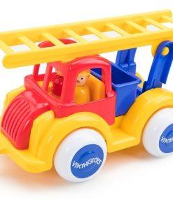 Masina Pompieri cu 2 figurine - Jumbo