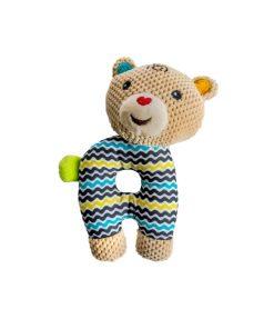 Prima Jucarie Zornaitoare De Plus A Bebelusului - Urs