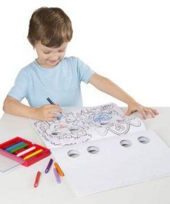 Bloc cu desene de colorat Mutrite Caraghioase Melissa and Doug