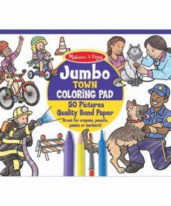 Bloc cu desene de colorat Orasul- Melissa & Doug