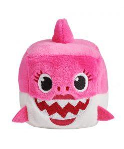 Jucarie interactiva cu sunete Baby Shark, Rechin, Roz