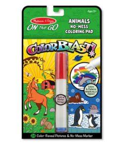 Carnet de colorat Colorat Animale - Melissa & Doug