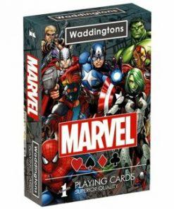 Carti de joc Waddingtons Marvel
