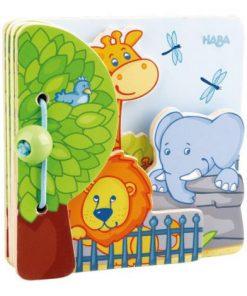 Carticica pentru copii, Haba, Prietenii de la zoo, 10luni+