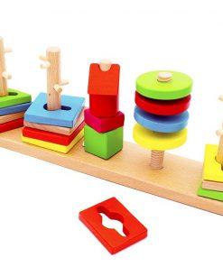 Coloane sortator Montessori