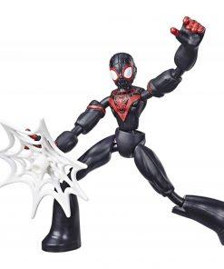 Figurina flexibila Spiderman Bend and Flex, Miles (E7687)