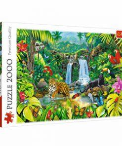 Puzzle Trefl Padurea tropicala, 2000 piese