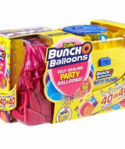 Bunch O Baloons - Set party baloons 16 baloane roz si pompa