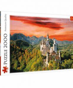 Puzzle Trefl Castelul Neuschwanstein, 2000 piese