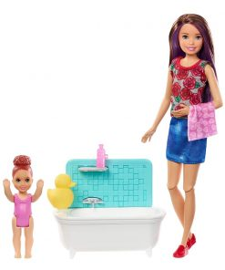 Set de joaca Barbie Skipper Babysitter INC, FXH05