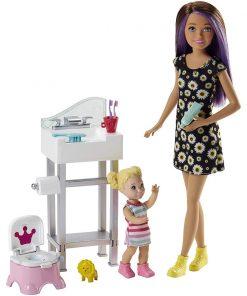 Set de joaca Barbie Skipper Babysitter INC, FJB01