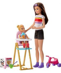 Set de joaca Barbie Skipper Babysitter INC, GHV87