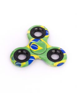 Fidget Spinner Brazil Cu Capse Verde