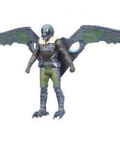 Figurina Spiderman Homecoming - Vulture cu aripi detasabile, 15 cm