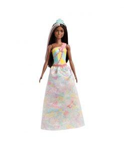 Papusa Barbie Dreamtopia Printesa, Galben (FXT16)