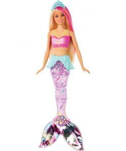 Papusa Barbie Dreamtopia - Sirena cu lumini si sunete