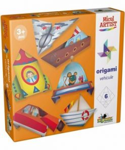 Joc creativ Micul Artist - Origami Vehicule