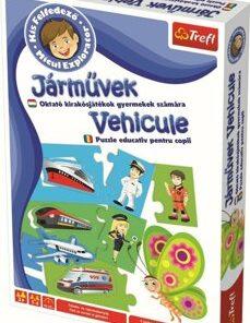 Joc educativ Micul explorator- Invata vehiculele