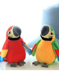 Jucarie interactiva Papagalul vorbaret Rosu