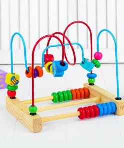 Labirint cu bile Montessori