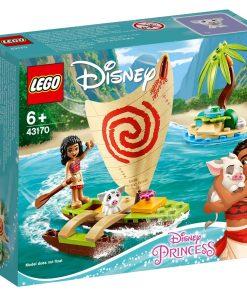 LEGO® Disney Princess - Aventura pe ocean a Moanei (43170)
