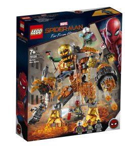 LEGO® Marvel Super Heroes - Batalia lui Molten Man (76128)
