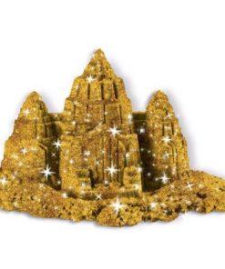 Nisip Kinetic Metale Si Minerale Stralucitoare Auriu