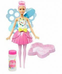 Papusa Barbie Dreamtopia cu baloane de sapun