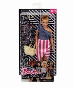 Papusa Barbie Fashionista Cu Hainute De Schimb