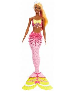 Papusa Mattel Barbie Dreamtopia Sirena Din Tinutul Dulciurilor