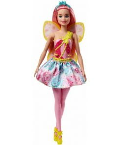 Papusa Mattel Barbie Dreamtopia Zana in rochie roz