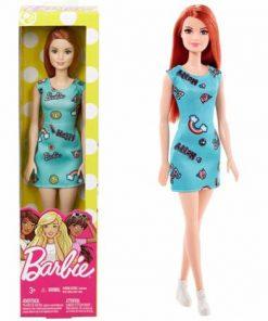 Papusa Mattel Barbie Model Clasic Roscata