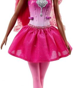 Papusa Barbie Dreamtopia - Zana cu aripioare, FJC86