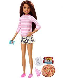Papusa Barbie Skipper Babysitter Running, FHY92