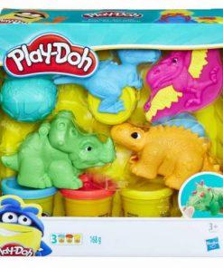 Play doh set scule dino