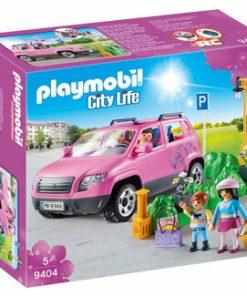 Playmobil City Life, Masina de familie cu loc de parcare