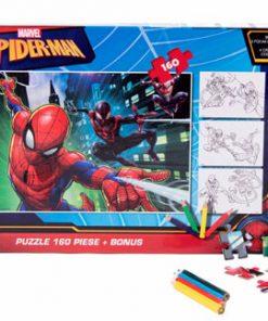 Puzzle 160 piese + Bonus Spiderman