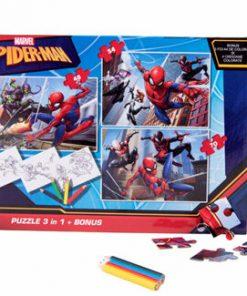 Puzzle 3in1 + Bonus Spiderman