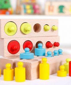 Cilindri Montessori Color