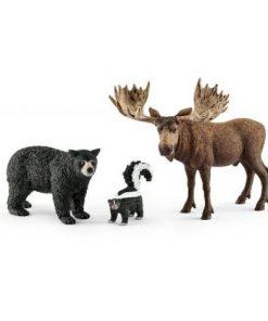 Set figurine schleich animale din padurile americii de nord sl41456